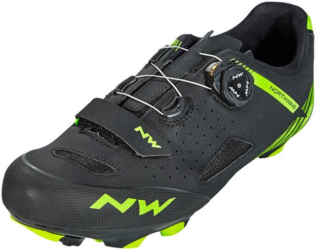 Northwave Origin Plus Shoes Herren blackgreen